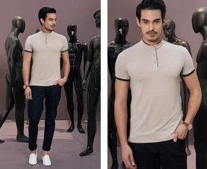 Mẫu áo thun Áo Polo Slim-Fit