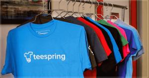 Mẫu áo thun teespring