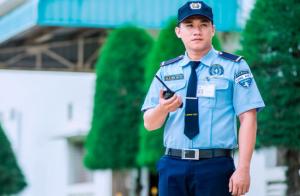 Đồng phục bảo vệ thể hiện được tính chuyên nghiệp