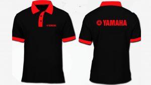 Mẫu áo thun đồng phục Yamaha