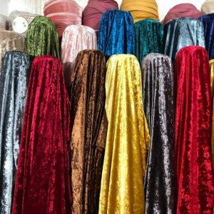 Tính chất riêng của chất liệu vải nhung