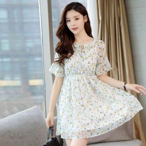 Lựa chọn vải Chiffon may váy khá phù hợp