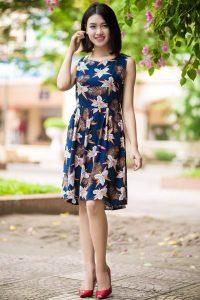 May váy từ vải lanh
