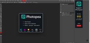 Phần mềm thiết kế photoshop online