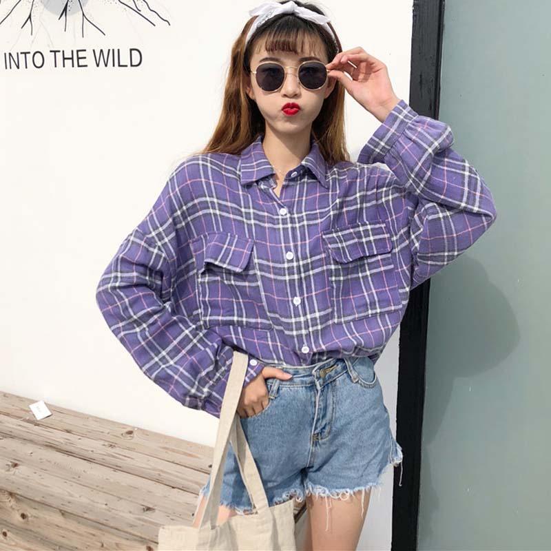 mẫu áo somi oversize cho nữ