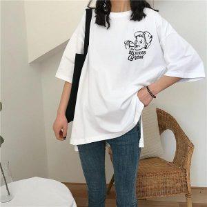 mẫu áo oversize cho nữ