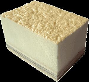 Polyurethane Foam có cấu trúc là bọt xốp siêu nhẹ